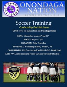 Soccer Camp: January 4, 2017